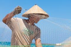 Balinese vissers Royalty-vrije Stock Foto's