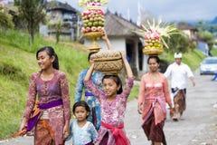 Balinese vrouwen royalty-vrije stock foto's