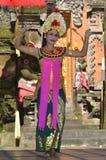 Balinese waman performs Barong and Kris Dance Royalty Free Stock Images
