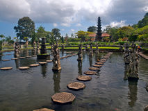 Balinese water palace Royalty Free Stock Images