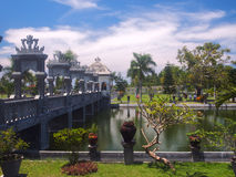 Balinese water palace Stock Image