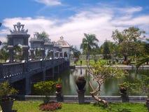 Balinese water palace. Taman Ujung water palace at Bali island in Indonesia Stock Image