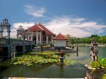 Balinese water palace Stock Photos