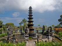 Balinese water palace stock photography