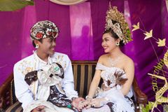 Balinese wedding Stock Photography