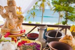 Balinese wedding ceremony Stock Photos