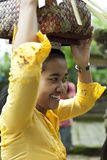 Balinese woman Stock Image