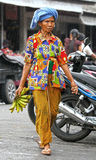 BALINESE WOMAN, INDONESIA Royalty Free Stock Photo