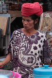Balinese Woman in Market Royalty Free Stock Photos