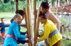 Balinese women Stock Photos