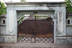 Balinesearkitektur - dörrar fotografering för bildbyråer
