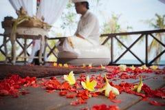 Balinesebröllopceremoni Royaltyfria Bilder
