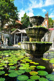 Balinesebrunnen Stockfotos