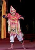 Balinesedansare med hans dräkt Royaltyfria Foton
