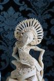 Balinesedansare Sculpture Arkivbild