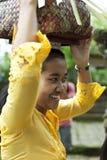 Balinesefrau Stockbild