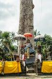 Balineseklosterbrodergarnering Royaltyfri Bild