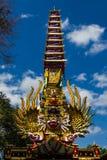 Balinesekonst royaltyfri fotografi