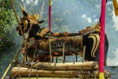 Balinesekremeringceremoni Royaltyfri Bild