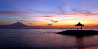 Balinesepagod Sanur Royaltyfria Bilder