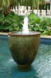 balinesespringbrunnvatten Arkivfoton