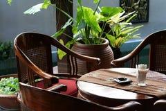Balinesetabelle Lizenzfreie Stockfotos