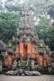 Balinesetempel im heiligen Affe-Wald Ubud auf Bali Lizenzfreie Stockbilder