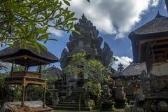 Balinesetempel Pura Besakih Arkivfoto