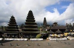 Balinesetempel Pura Besakih Royaltyfri Bild