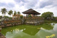 Balinesetemplet i Klung gjorde till kung, Bali, Indonesien Arkivfoton