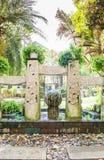 Balineseträdgård arkivfoto