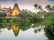 Balinesezugang Stockfoto