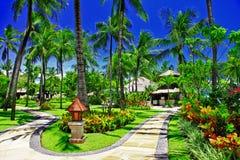 Balinesian holidays Stock Photos