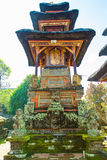 Baliness Style Temple in Bali Indonesia Stock Images