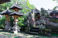 Baliness Style Temple in Bali Indonesia Stock Photos