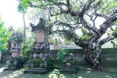 Baliness Style Temple in Bali Indonesia Royalty Free Stock Image