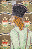 Balint Balassa mosaic Stock Images