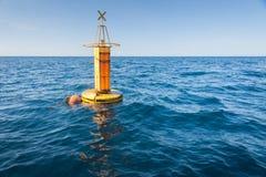 Balise de mer Photos libres de droits