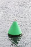 Balise de sécurité en mer Photos stock
