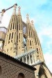 Balises de cathédrale de Barcelone Photos libres de droits