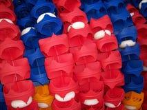 Balises de piscine Images stock