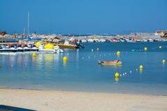 Balises de plage Photo libre de droits