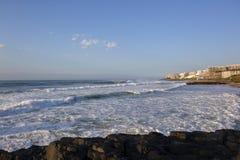 Balito Bay Waves Beach Stock Image