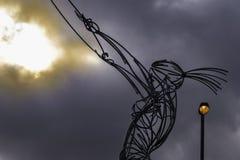 Baliza da esperança, Belfast imagem de stock