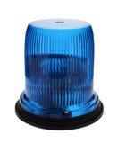 Baliza de piscamento azul. Imagens de Stock