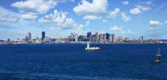 Baliza no porto de Boston Imagem de Stock Royalty Free