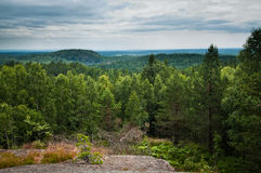 Baljasen Highest Viewpoint Dalsland Royalty Free Stock Image