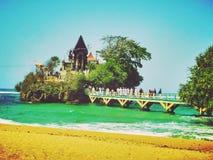 BalKambang tempel royaltyfri bild