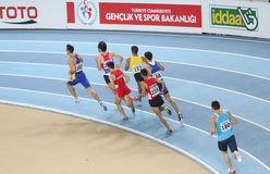 Balkan Athletics Indoor Championships Royalty Free Stock Photo