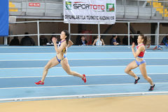 Balkan Athletics Indoor Championships Royalty Free Stock Photography